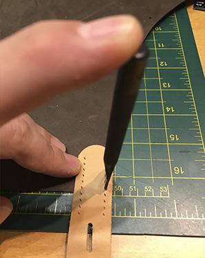 Step 11 - Lav selv læderforklæde