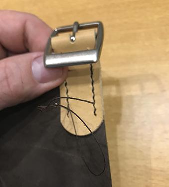 Step 12 - Lav selv læderforklæde