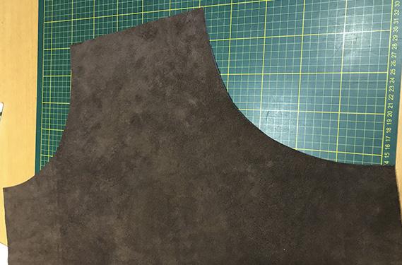 Step 4 - Lav selv læderforklæde