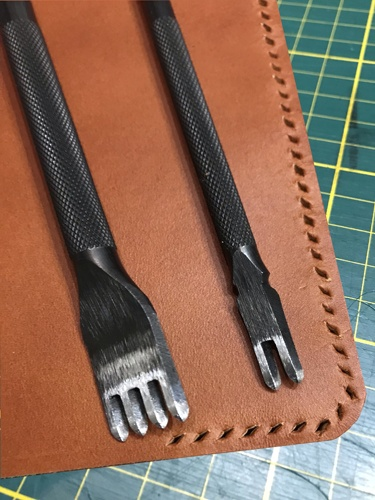 Læder raflebæger tools