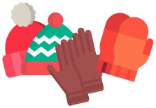 Huer handsker og luffer