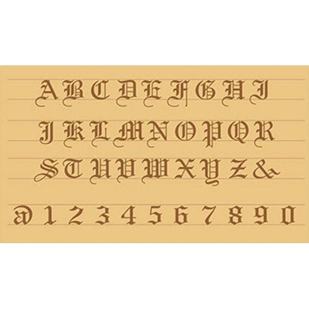 Alfabetsæt 8142-20