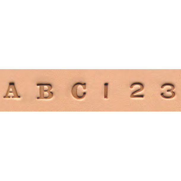 Alfabet og Talsæt 8134