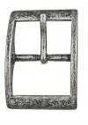 25 mm.,Gl. nikkel,spænde,pr. stk.