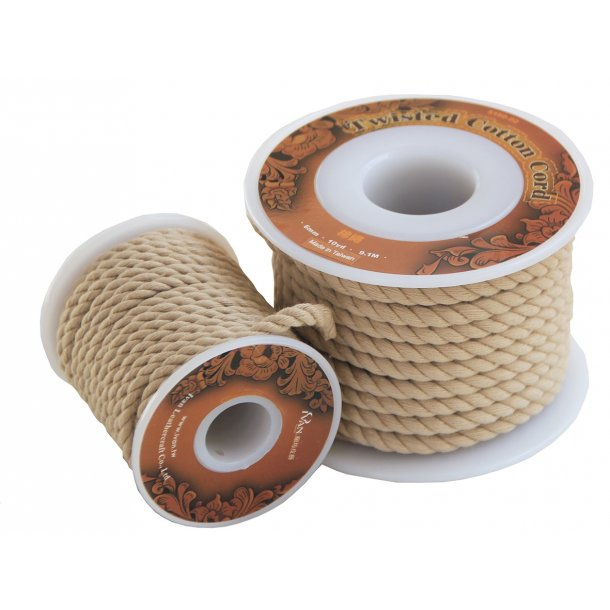 Twisted Cotton Cord 4 mm.