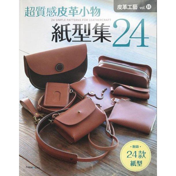 Bog 158 24 simple patterns for leathercr