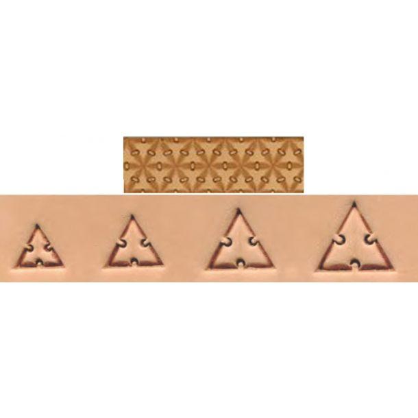 Punselsæt trekant sammensyning