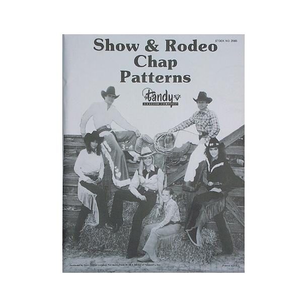 Bog 44 Show and rodeo chap pat