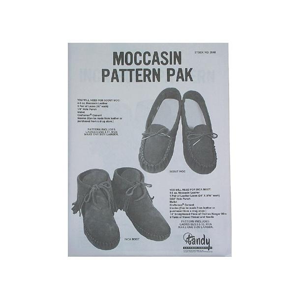 Bog 93 Moccasin pattern pack