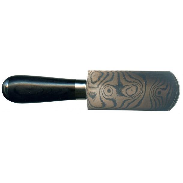 Damask skærfekniv afrundet
