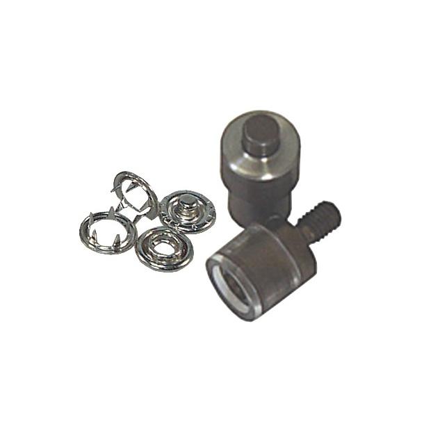 Ringtrykknapstempel til svingmaskine