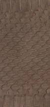 nr. 25 ca. 1m. x 10 cm. ,Mørk brun,