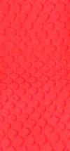 nr. 29 ca. 1m. x 10 cm. ,Rød,pr. stk.